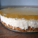 Citron-cheesecake
