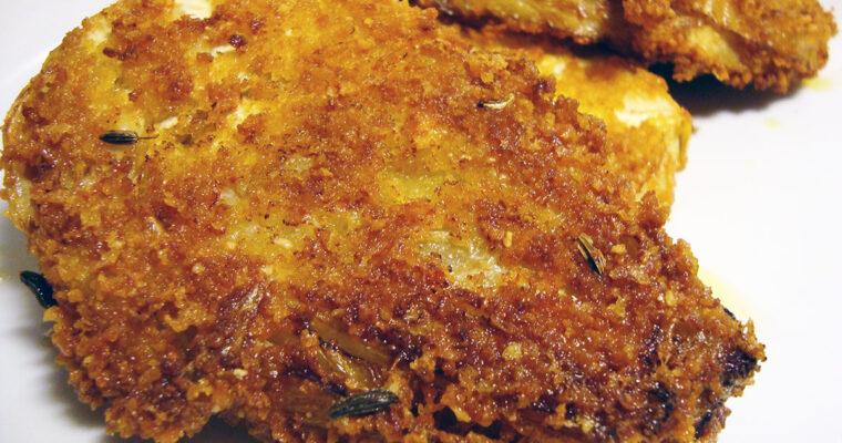 Sprødstegte fennikelfritter med kryddermayo