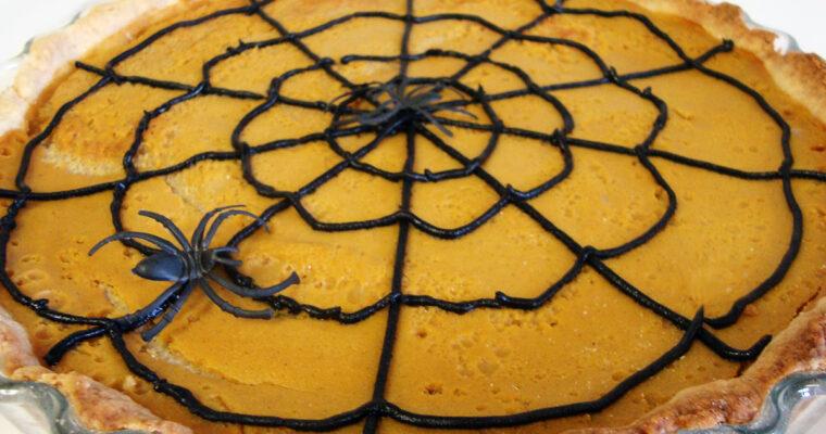 Græskartærte med kanel