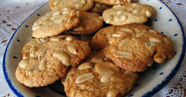 Peanutbutter-cookies