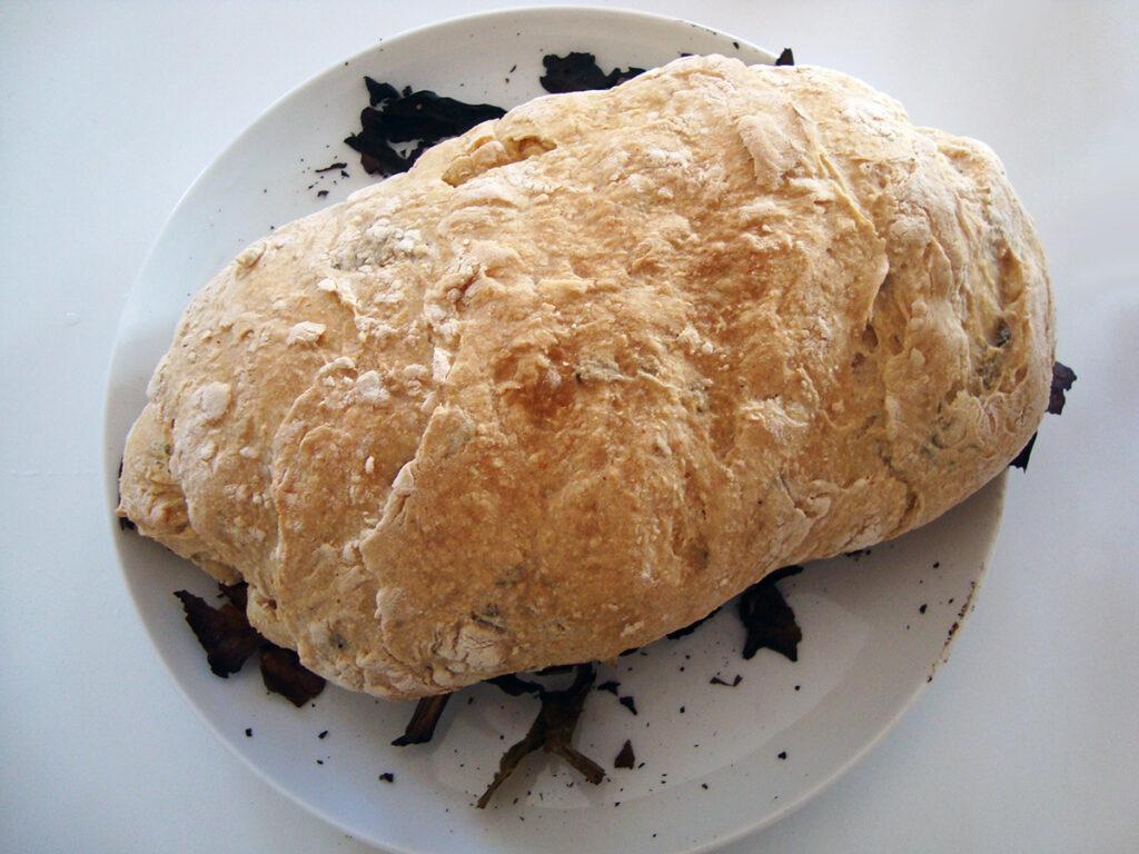 grillbrød, brød, boller, grill, gær, sirup, hirseflager, durummel, hvedemel, merian