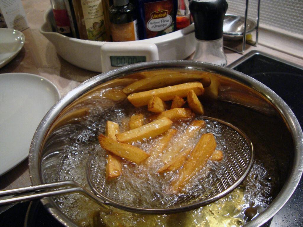 ønskebrønd, pommes frites, pommefritter, kartofler, rapsolie,