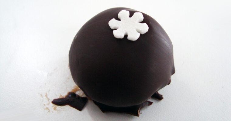 Nøddefudge med chokolade