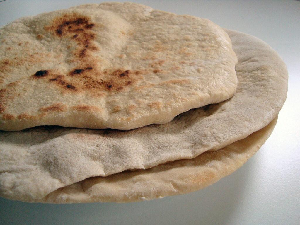 fladbrød, brød, mellemøsten, shawarma, spidskommen