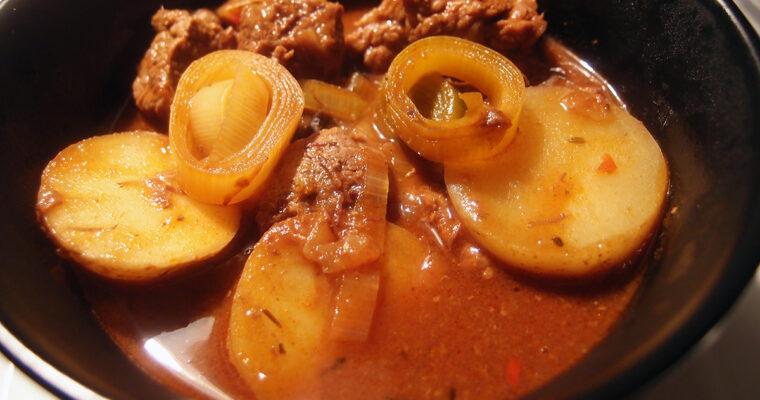 Gullasch – ungarsk kødsuppe
