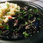 Marokkansk simremad – oksekød med svesker