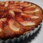 Æble-marcipan-tærte