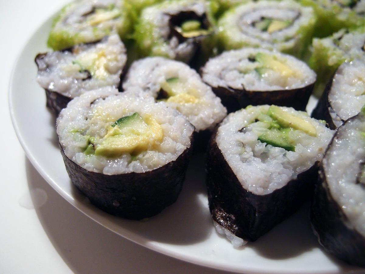 Veganer-sushi