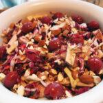 Lun fasansalat med radicchio og kirsebær