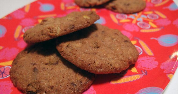 Chokoladecookies med havtorn