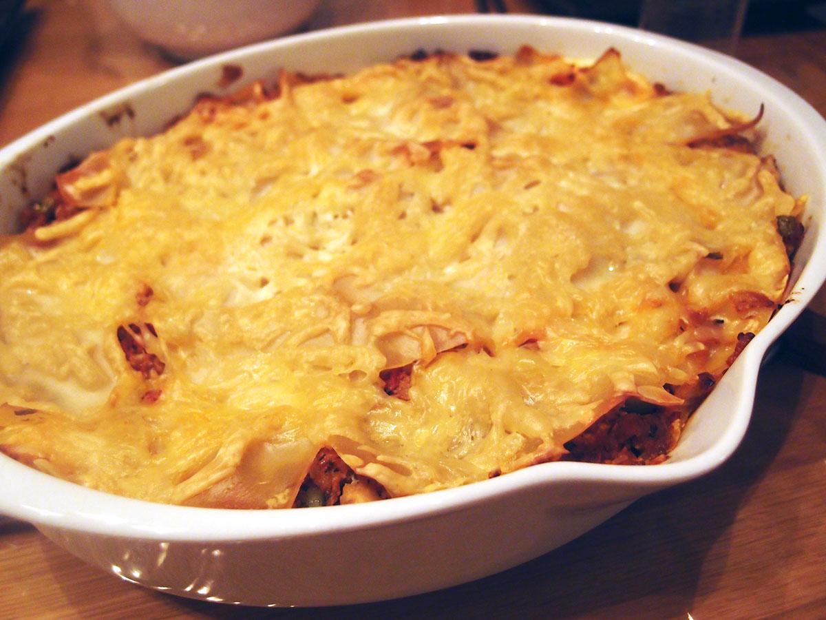 Græsk lasagne - aka lammelasagne