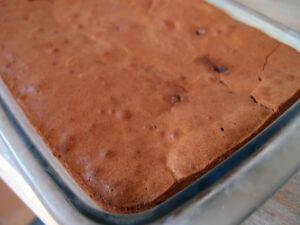 brownie, chokoladebrownie, mørk chokolade, kage, chokoladekage, dessert