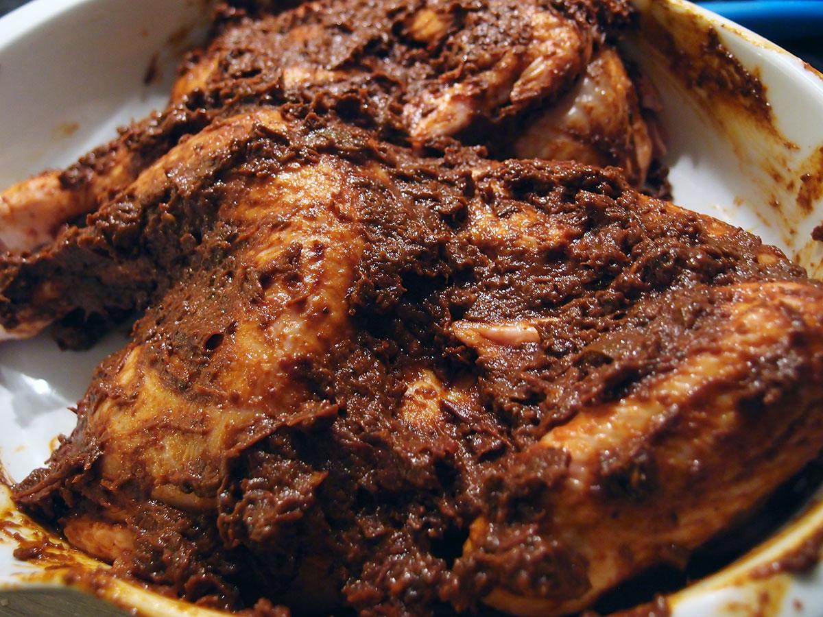 Mole - mexicansk chilisauce