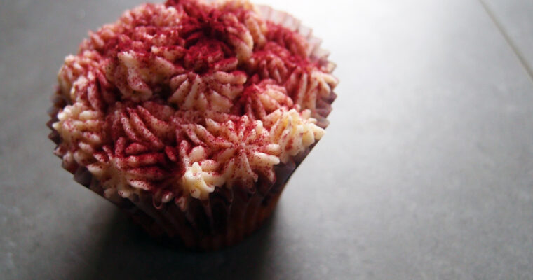 Blåbærmuffins med mascarponecreme