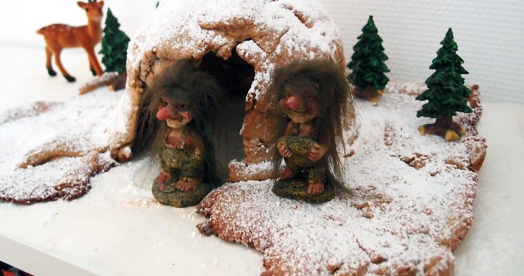 Gingerbread cave – ingefærbrødsgrotte