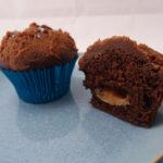 Kakaomuffins med saltkaramel