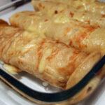 Toastpandekager – med skinke og ost