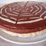 Chokoladekage med kaffeganache