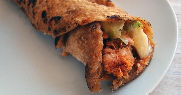 Grove tortillas med fyld
