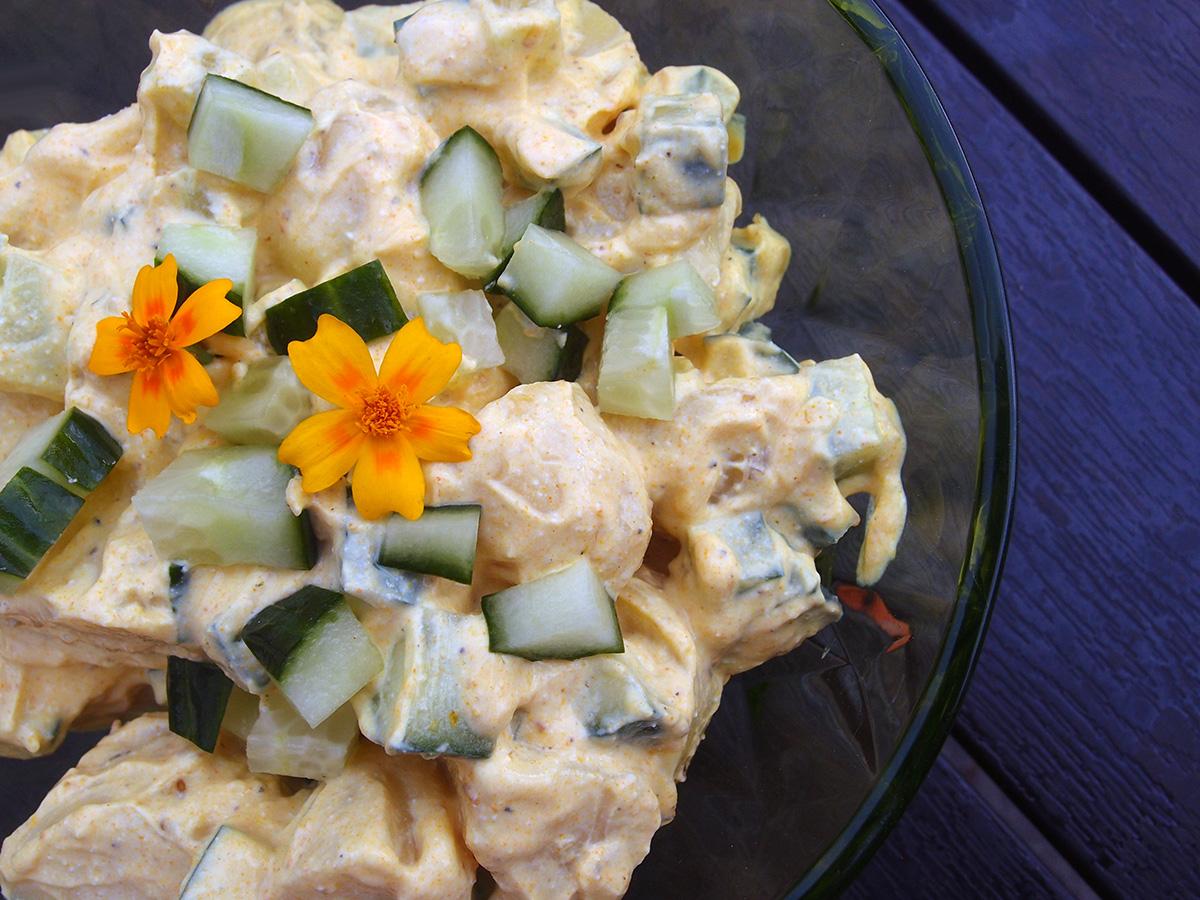 Karry-kartoffelsalat