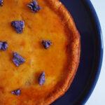Valnøddekage med ricotta og appelsin