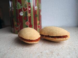 lusikkaleivat, finske julekager, julesmåkager, småkager, jul, kage, dessert, hvedemel, smør, bagepulver, hindbærmarmelade, hindbær, æg, flormelis, vanilje