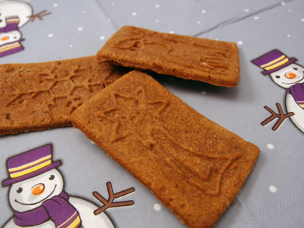spekulatius, kageform, julekager, julesmåkager, småkager, jul, dessert, kage, hvedemel, smør, æg, kanel, muskatnød, mørk farin, nelliker, ingefær