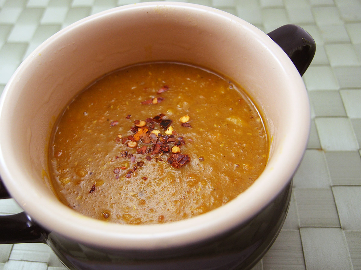 Fyldig Mulligatawny suppe