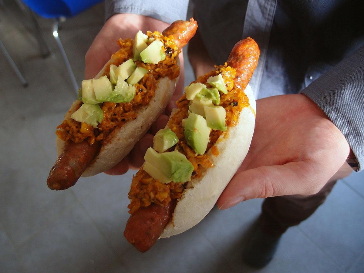 Mexicanske hotdogs