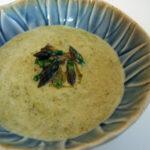 Grøn aspargessuppe