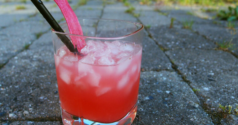 Rabarber Gin & Tonic