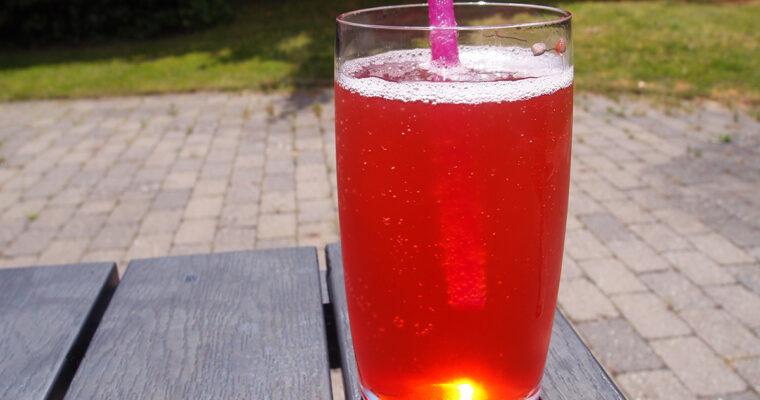 Hjemmelavet jordbærsodavand