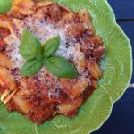 Kalveragout med pasta