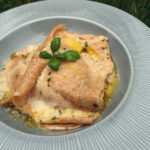 Pesto-lasagne