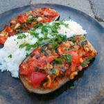 Imam Bayildi – fyldt aubergine