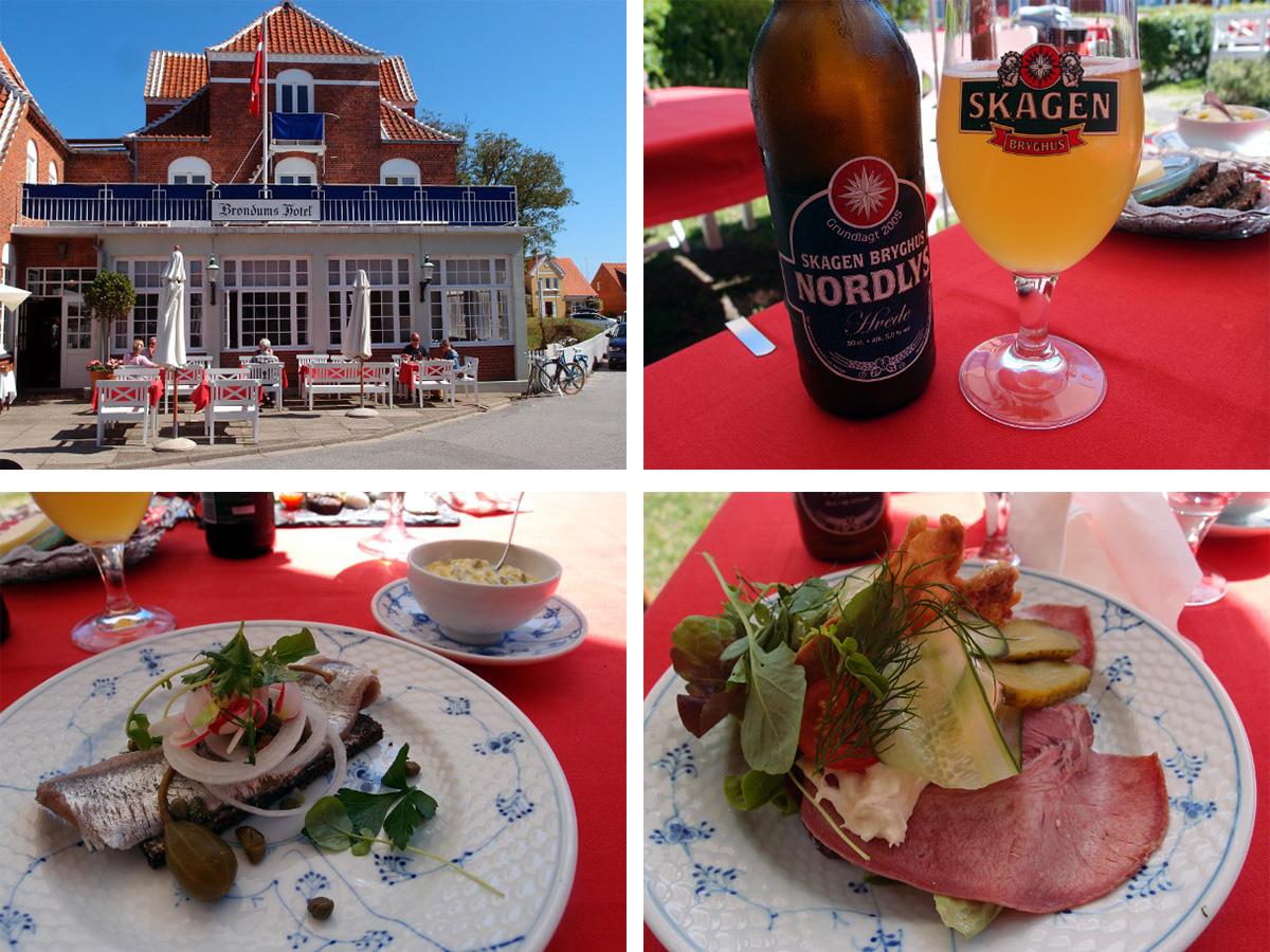 Brøndums Hotel, restaurant, restaurantanmeldelse, madanmeldelse, restauranter i Skagen