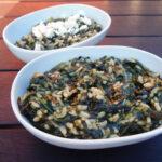 Spanakorizo – græsk spinatret