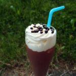 Chokolademilkshake med eller uden likør