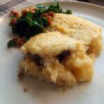 Kartoffelfad med lammekød