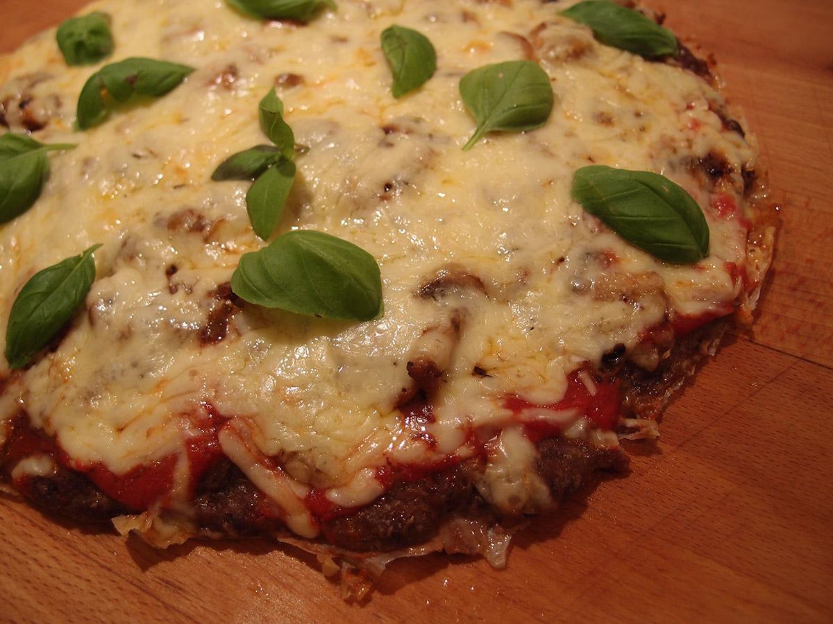 Meatza aka kødpizza