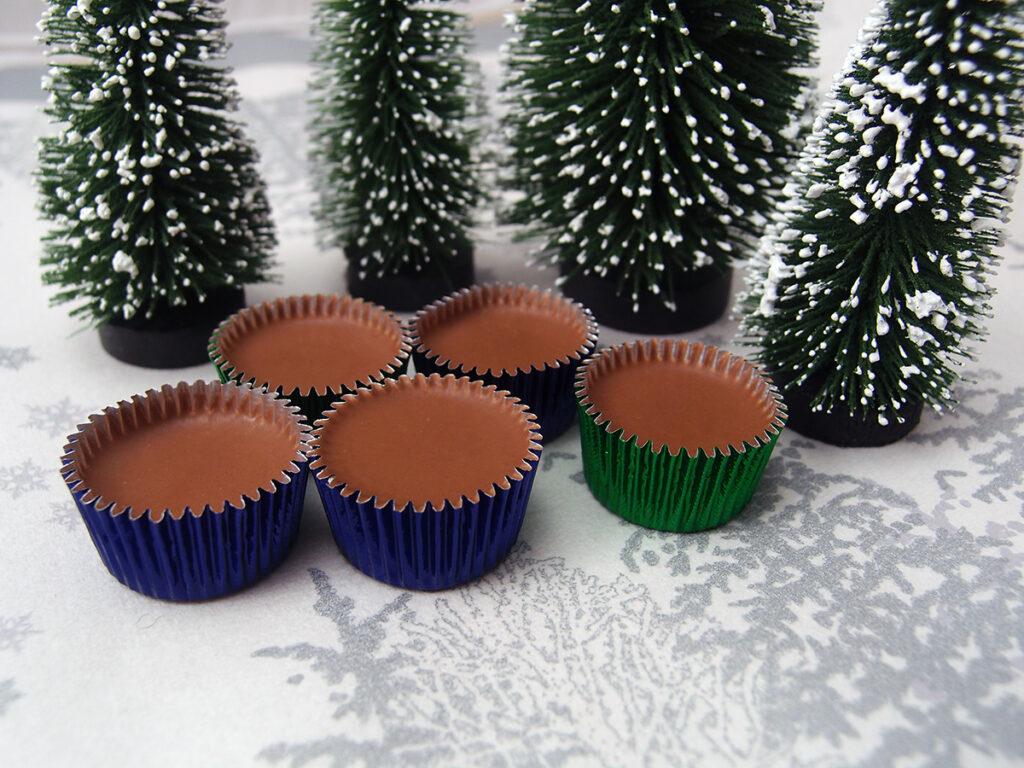eiskonfekt, iskonfekt, lys chokolade, chokolade, kokosolie, jul, konfekt