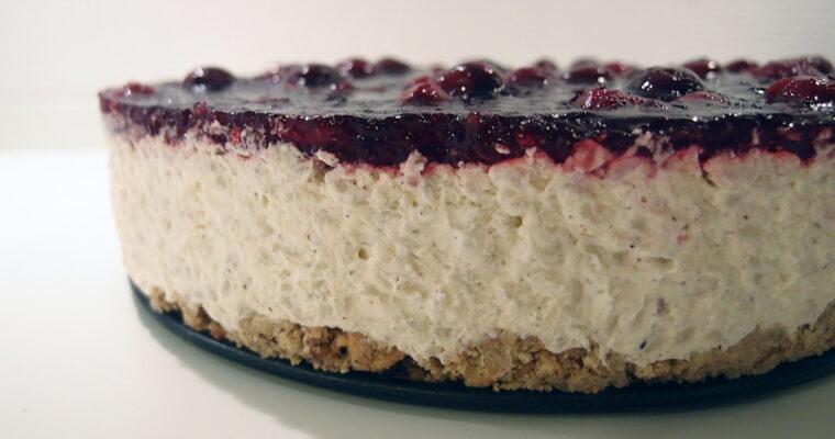 Risalamande cheesecake – lookalike
