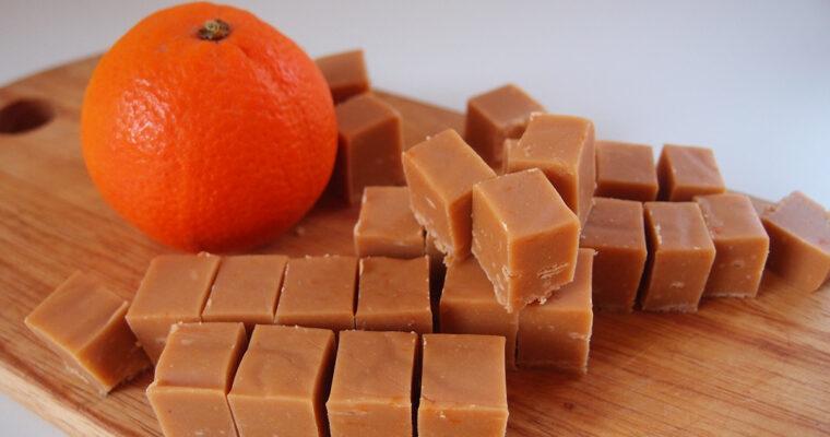 Appelsinfudge