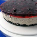 Brombær-cheesecake