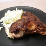 Fyldt kalveschnitzel med gorgonzola