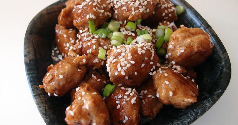 Japanske kødboller i soyasauce