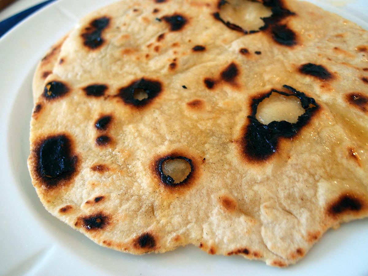 chapati, pandebrød, brød, hvedemel, durummel