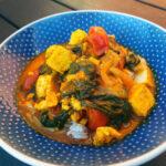 Palak paneer – indisk spinatret med friskost
