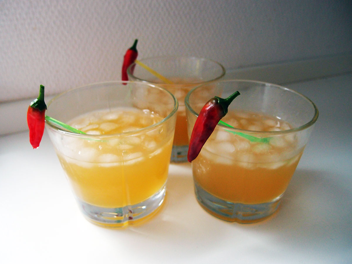 chili-ananas-drink, drink, chilidrink, ananasdrink, ananasjuice, chili, tequila