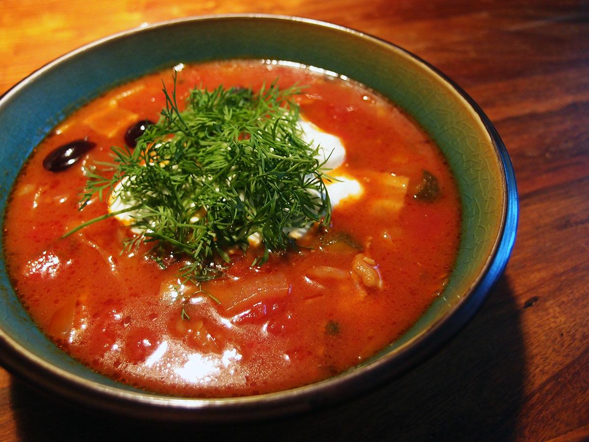 Soljanka – fyldig russisk suppe